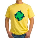 Dolphin Ring Yellow T-Shirt