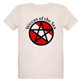 Wiccan of the Sea Organic Kids T-Shirt