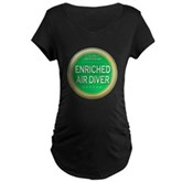 Certified Nitrox Diver Maternity Dark T-Shirt