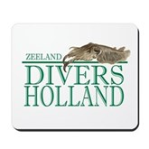 Zeeland Divers Holland Mousepad