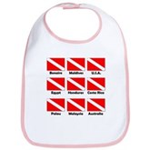 Dive Flags of the World Bib